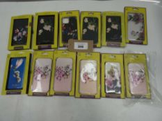 Bag containing 12x Ted Baker mobile case for various iPhone models