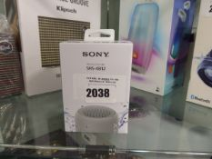 Sony SRS-XB12 bluetooth speaker (boxed)