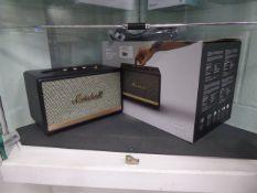 Marshall wireless home bluetooth speaker