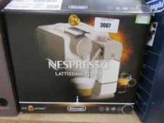 Delonghi Nespresso Lattisima Touch coffee machine