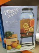 3018 Boxed Mason drinks dispenser