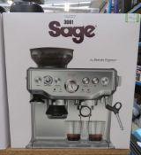 Sage Barista Express coffee machine