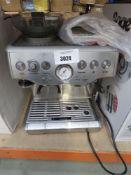 Unboxed Sage Barista Express coffee machine