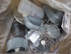Box of Kenwood food processor parts
