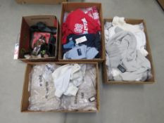 3299 3 boxes containing mixed bagged clothing