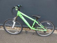 Raleigh Edge mountain bike in green