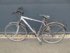 City Sport Tiger mountain bike in silver