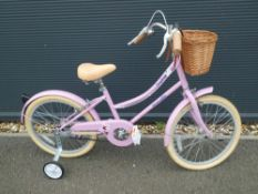 Emmelle girls bike with basket