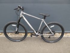 Beacon Vitesse electric bike in silver