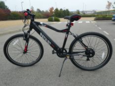 Patriot XTZ E-Life electric bike with battery and charger