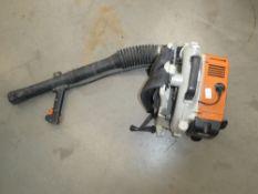 Stihl BR380 petrol powered leaf blower
