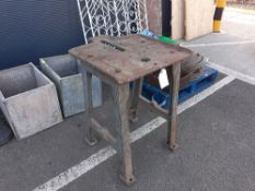 Cast iron work table