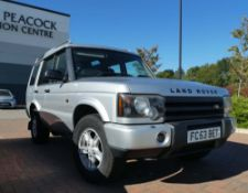 FC53 BET Land Rover Discovery TD5 S in silver, 2495cc, first registered 08.09.2003, diesel, approx