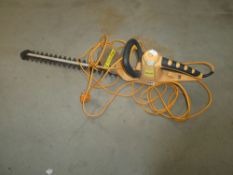 Landscape yellow hedge cutter