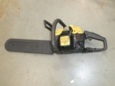 McCulloch petrol powered chainsaw