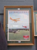 5148 - De Havilland and Tiger Moth advertising poster