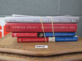 4 clock and watch related reference books