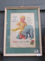 5146 - Persil 1950s advertisement