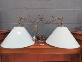 5180 - Twin spot ceiling light