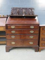 5073 - 19th century mahogany bureau
