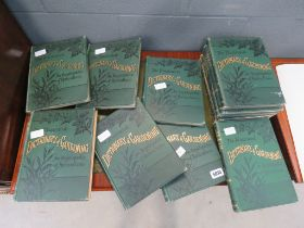 Set of seven illustrated dictionaries of gardening