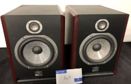 A Pair of Focal SOLO 6BE Studio Monitor Speakers (previously in use).