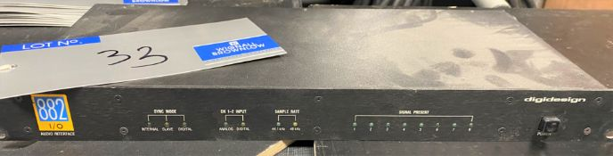 A digidesign 882 I/O Audio Interface (spares only).