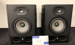 A Pair of Focal Alpha 50 Speakers (previously in use).