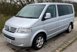 A Volkswagen Caravelle EXEC Tdi 174 A MPV Disability Vehicle Reg. No.YN56CNA; first registered 23/