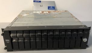 A Dell PowerVault 210S File Server (no power).