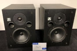 A Pair of Quested S7 Studio Monitor Speakers, each 480mm x 300mm x 330mm, 8in speaker, 5in