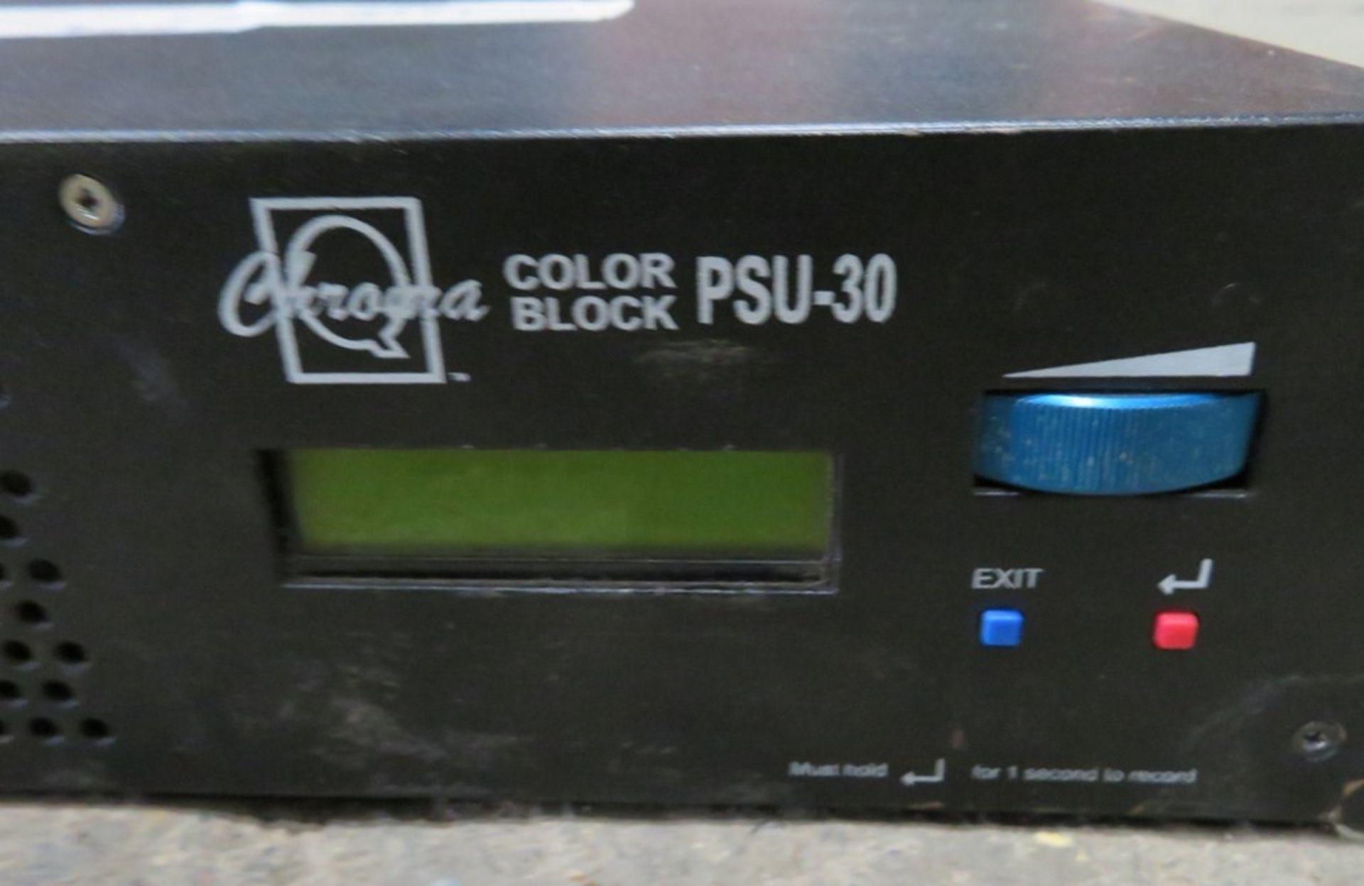 A ChromaQ Colorblock PSU-30 DB4 30 way Power Supply Unit-located at GLS Lighting, The Alpha