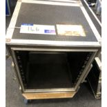 A 12u Amplifier Rack for d+b D12 amplifier-located at Chaps Productions, 33 Banstead Road, Caterham,