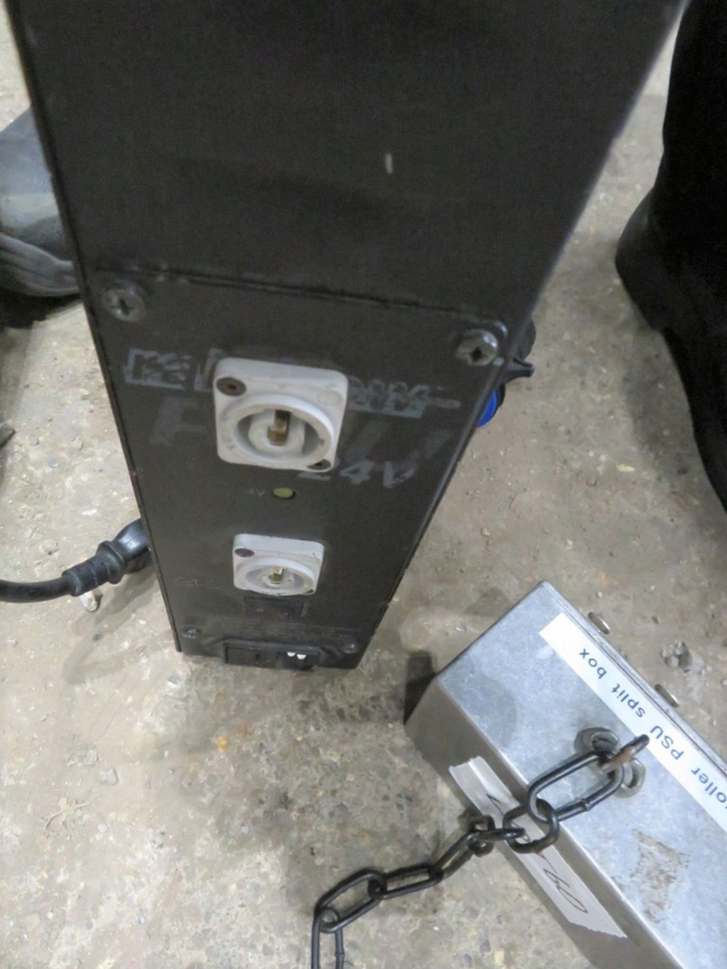 A ChromaQ Scroller Power Supply Unit with 2 Splitter Boxes-located at GLS Lighting, The Alpha - Image 3 of 3
