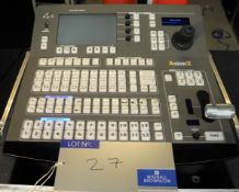 An Analog Way Axion 2 ARC200 Controller in flight case with remote controller for Analog Way