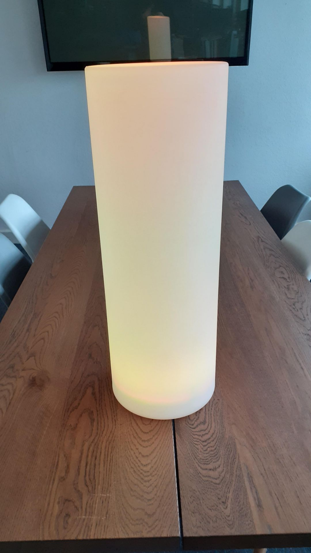 A Playlearn SLUF 70cm Light Up Cylinder with Power Supply and Remote Control (good condition, - Image 6 of 10