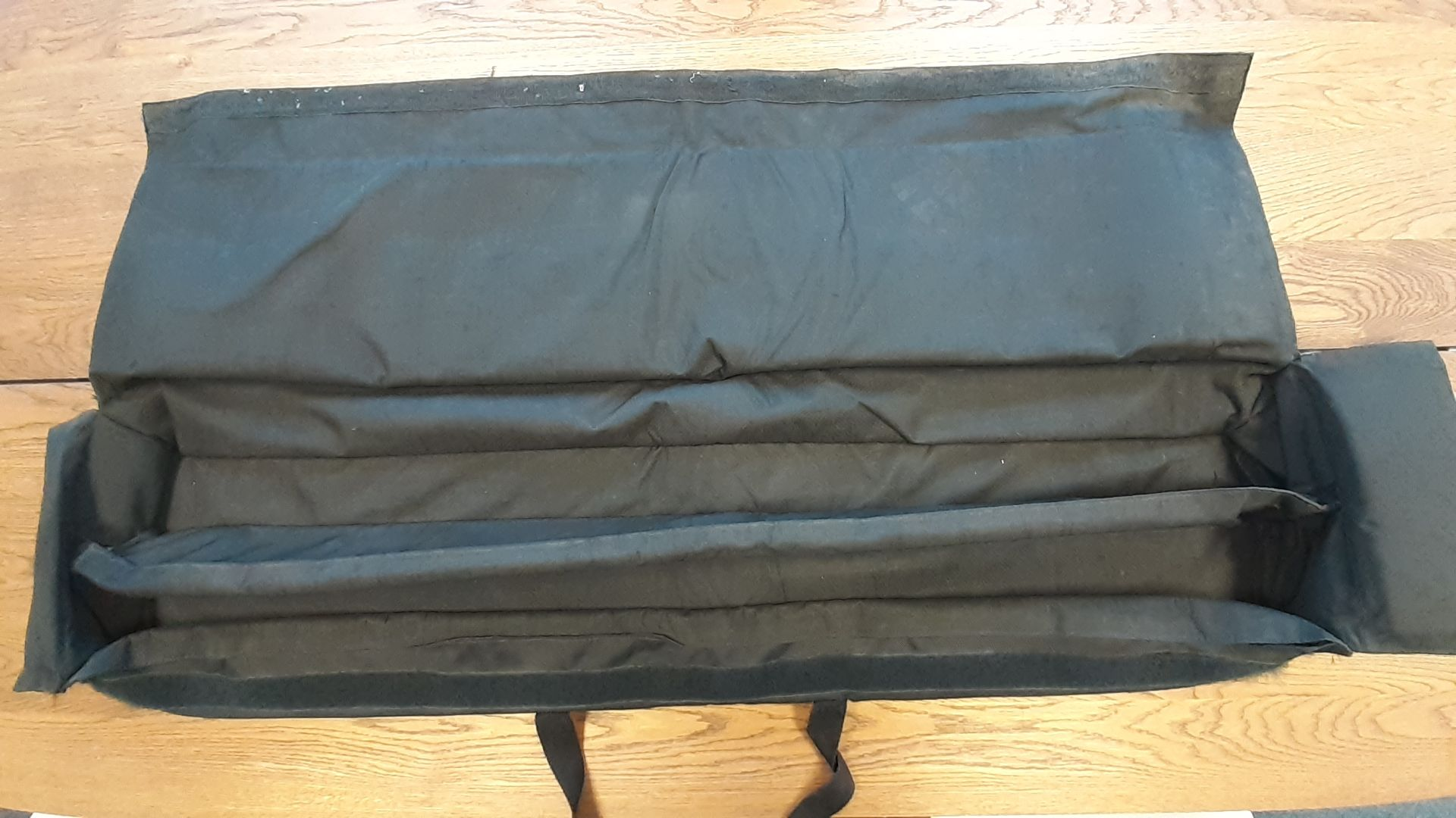 8 x Padded Speaker Stand Bags with velcro closures, branded 'Light Fantastic Production Services', - Image 2 of 2