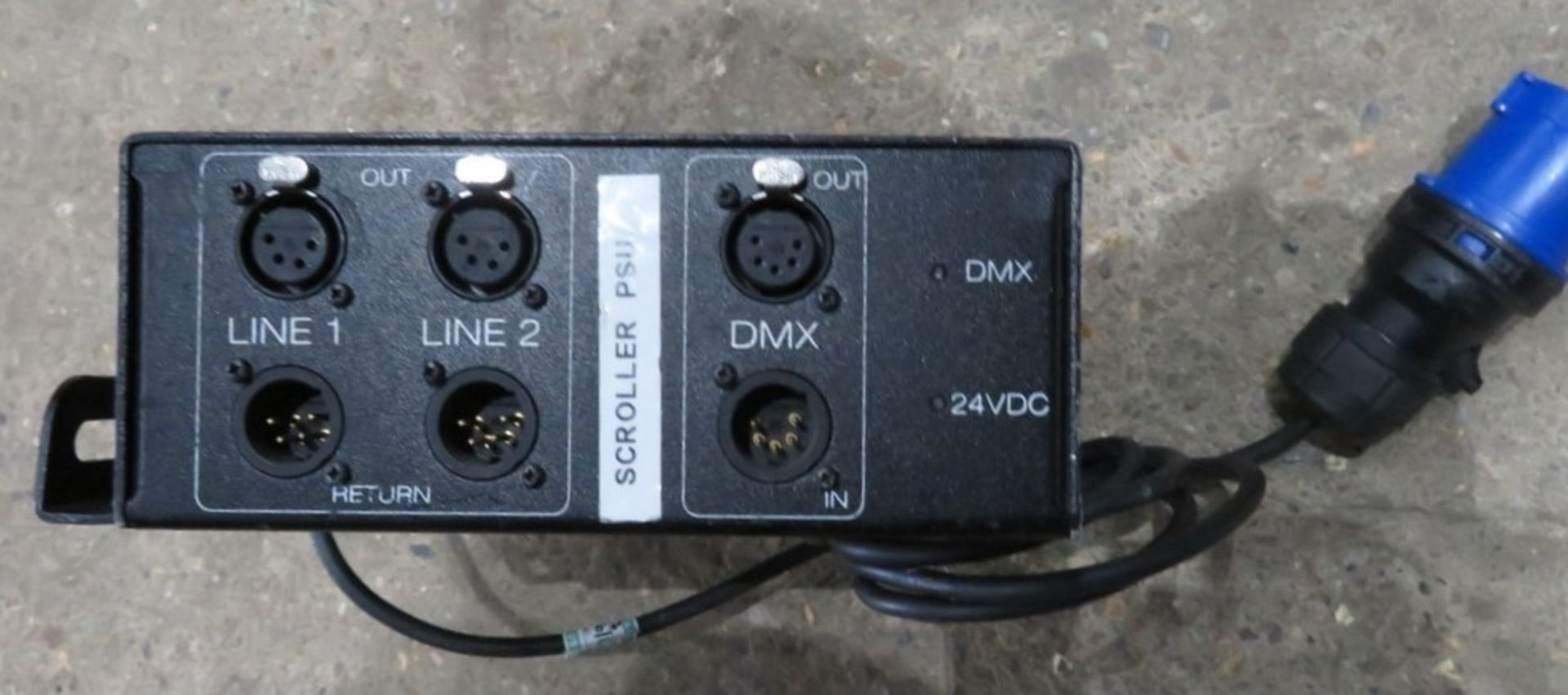 A ChromaQ Scroller Power Supply Unit-located at GLS Lighting, The Alpha Building, Willments