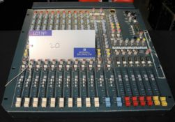An Allen and Heath MixWizard WZ3, 14:4:2 Sound Mixer, full working order, reasonable condition-