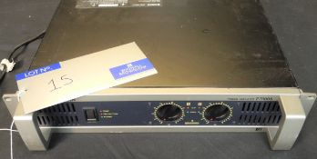 A Yamaha P7000S Power Amplifier, 2 x 1100w @ 4ohms output, full working order, reasonable