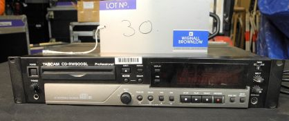 A Tascam CD-RW900SL Professional CD writer with IEC-13A Power Cable, good condition-located at PR