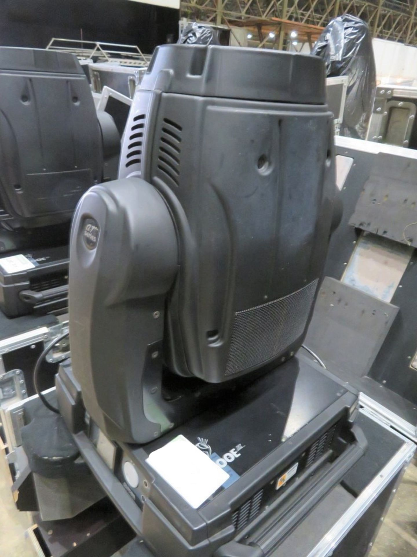 A Pair of Robe Colorwash 700E AT Moving Head Lights with flight case, 2021 PAT test, used lamp, - Image 2 of 2