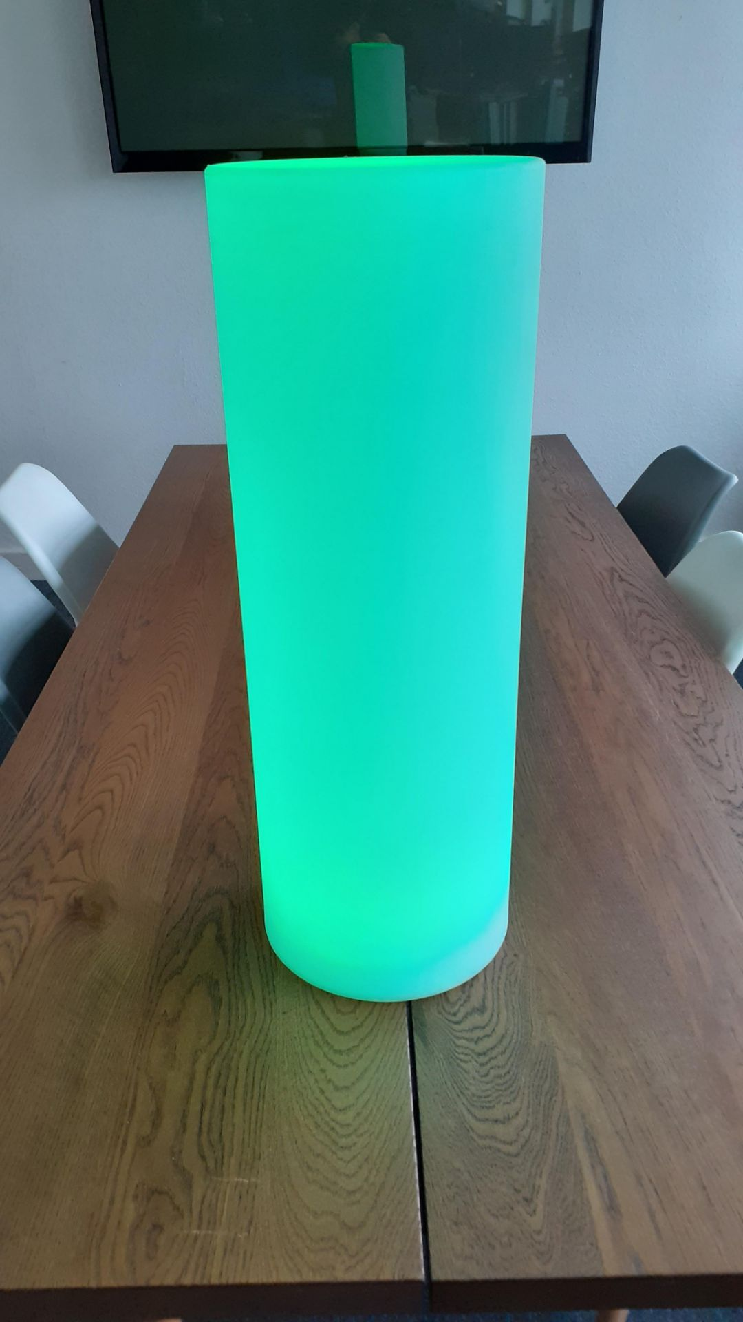 A Playlearn SLUF 70cm Light Up Cylinder with Power Supply and Remote Control (good condition, - Image 9 of 10
