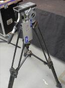 A Miller Arrow Lightweight Camera Tripod, carbon fibre legs, 100mm bowl head, good condition, smooth