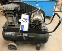 An SIP airmate TN3/50-SRB Mobile Receiver Mounted Air Compressor (2013), 50 litre, 3HP, 240v-