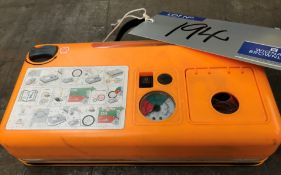 An Active Tools 12v Portable Air Compressor.