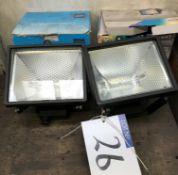 2-400w Floodlights (unused).
