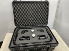 2 Shure MX418 Gooseneck Condenser Microphones with R185 Cartridge (excellent condition)-located at