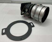 A Sharp 49-63mm 1:17-2.3 Lens for XG-P20X Projector with Blanking Ring (ex hire, in working