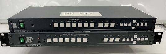 2 Kramer Presentation Switchers/Scalers: VP-436, VP-719XL (for spares or repair)-located at Pro